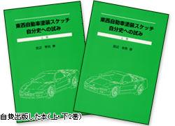 自費出版した本(上下2巻)
